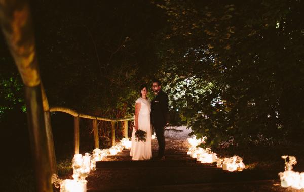 Zuria y Josu, una boda sin guion