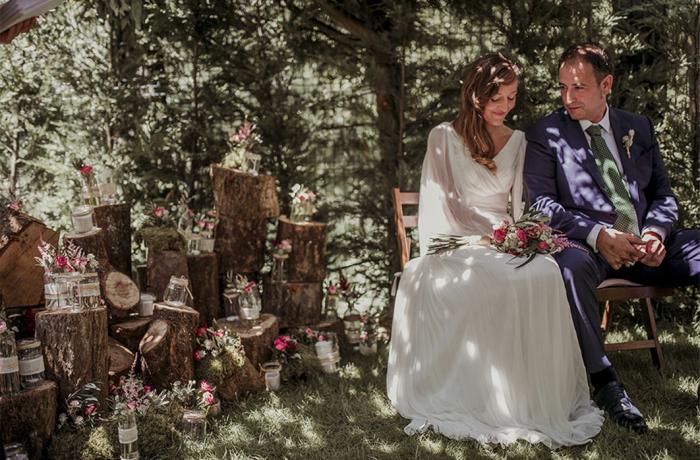 Una boda campestre