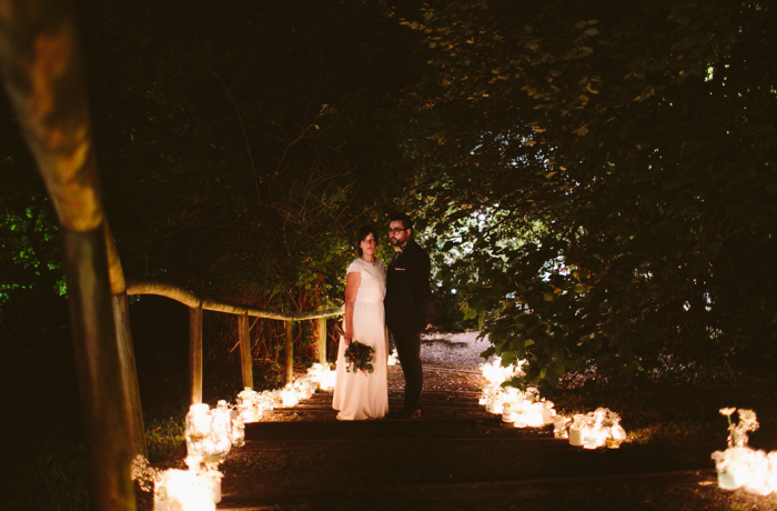 Zuria y Josu, boda sin guion