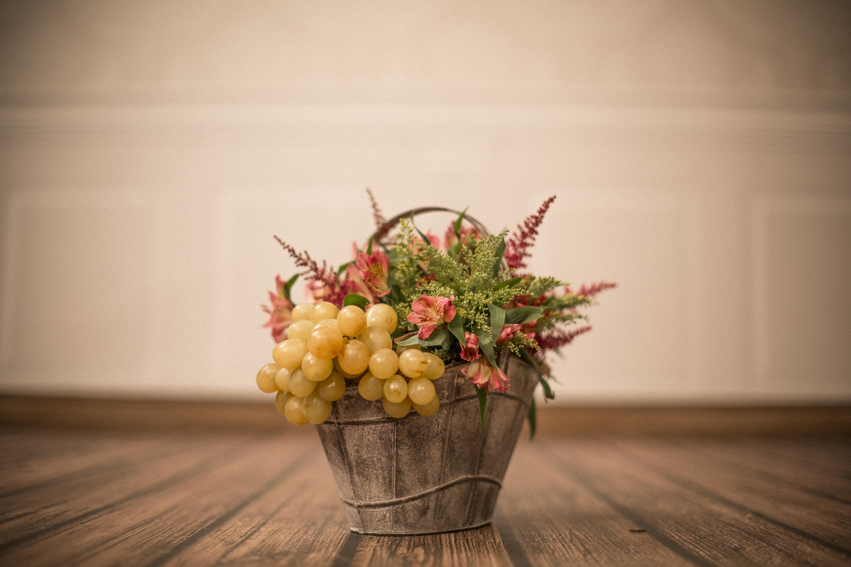 Uvas_con_flores.Flor_Fruits_Eventos